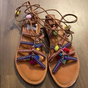 Mossimo Lace Up Sandal Size 7